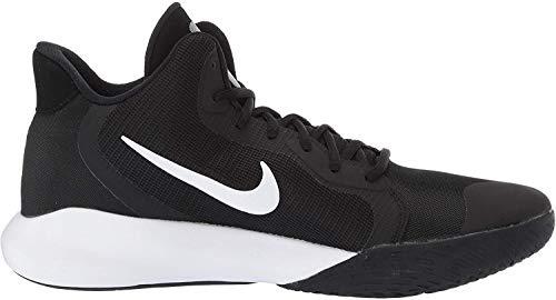 Nike Herren Precision Iii Basketballschuhe, Schwarz (Black/White 000), 41 EU(7UK)