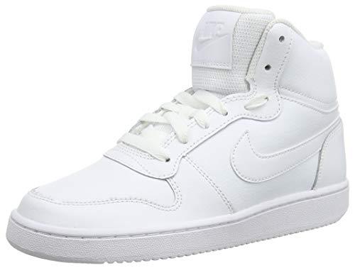 Nike Damen Ebernon Mid Sneakers, Weiß White 001, 42.5 EU