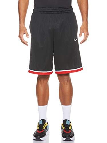 Nike Herren M NK Dry Classic Short Sport, Black/Anthracite/(White), L