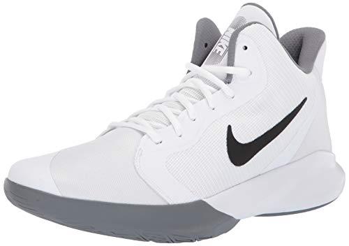 Nike Herren Precision Iii Basketballschuhe, Weiß (White/Black 000), 45 1/2 EU(10.5UK)
