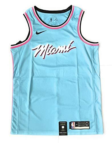 Nike Herren Miami Heat NBA Basketball Swingman Trikot AV4651-425 Größe M (ohne Name/Nummer)