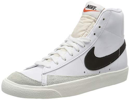 Nike Herren Blazer Mid '77 VNTG Basketballschuhe, Weiß (White/Black 000), 41 EU