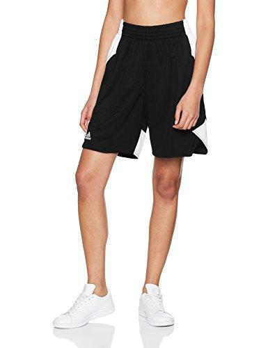 adidas Damen Crazy Explosive Shorts, Black/White, Gr. XL