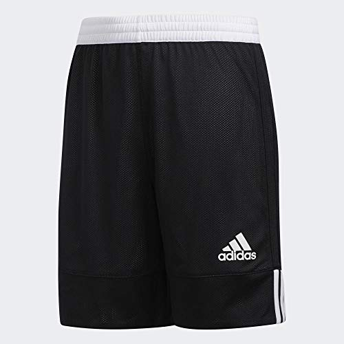 adidas Kinder 3G SPEE REV SHR Sport Shorts, Black/White, 910Y
