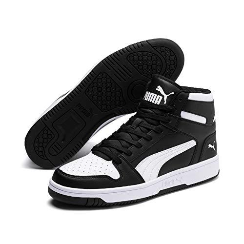 Puma Unisex-Erwachsene Rebound LayUp SL Sneaker, (Puma Black-Puma White 01), 42 EU