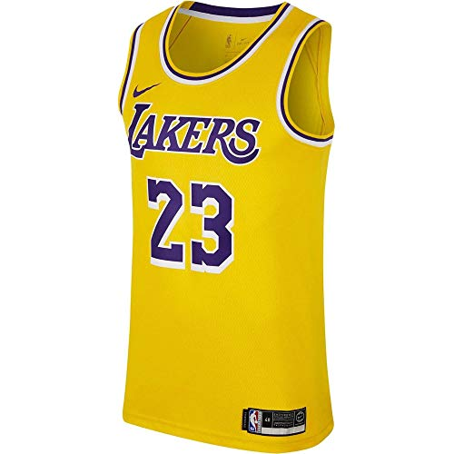 Nike Performance Herren Basketballtrikot gelb L