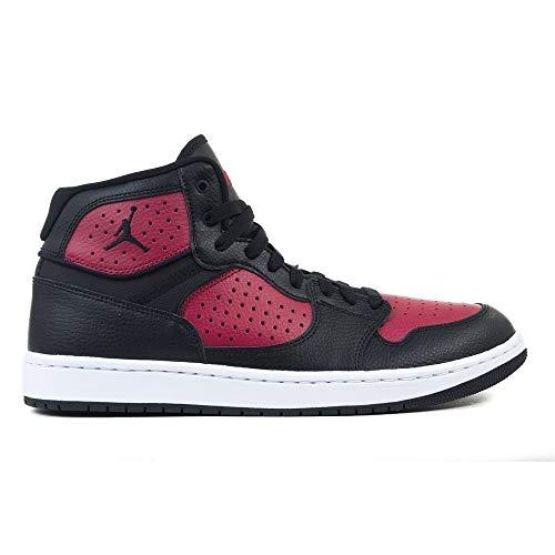 Nike Herren Jordan Access Basketballschuhe, Mehrfarbig (Black/Gym Red-White 006), 46 EU