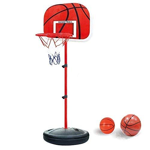 YunNasi Basketballkorb mit Ständer Basketballständer Stabiler und Höhenverstellbar für Kinder und Jugendliche geeignet (150cm)