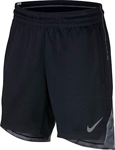 Nike Damen W NK Elite Shorts, Black/Cool Grey, 2XL