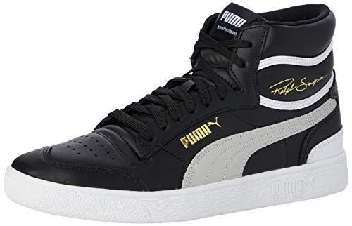 Puma Unisex-Erwachsene Ralph Sampson Mid Sneaker, Schwarz Black-Gray Violet White, 46 EU