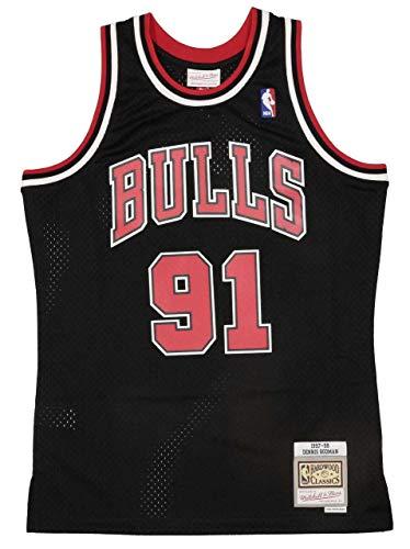 Mitchell & Ness NBA Chicago Bulls Swingman 2.0 Dennis Rodman Trikot Herren schwarz/rot, XL