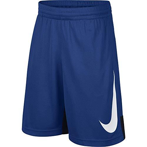 Nike Jungen B NK Dry HBR Shorts, Blau (indigo force/Black), L