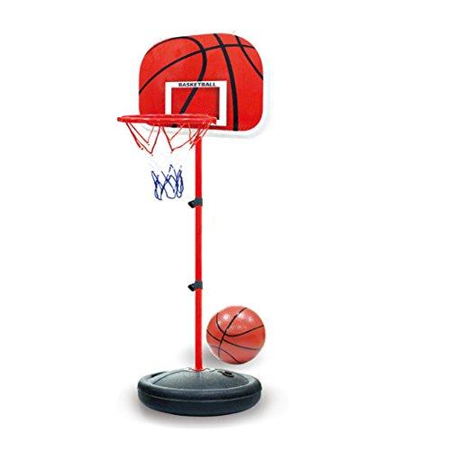 MRKE Basketballkorb Kinder, 63-150 cm Kinder Basketballständer Verstellbar Basketball Korb Spiel Set Kinder Geschenk