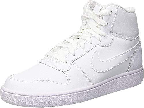 Nike Herren Ebernon Mid Fitnessschuhe, Weiß White 100, 44 EU