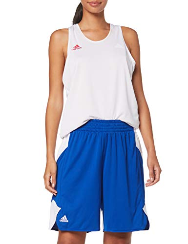 adidas Damen Crazy Explosive Shorts, Croyal/White, Gr. L