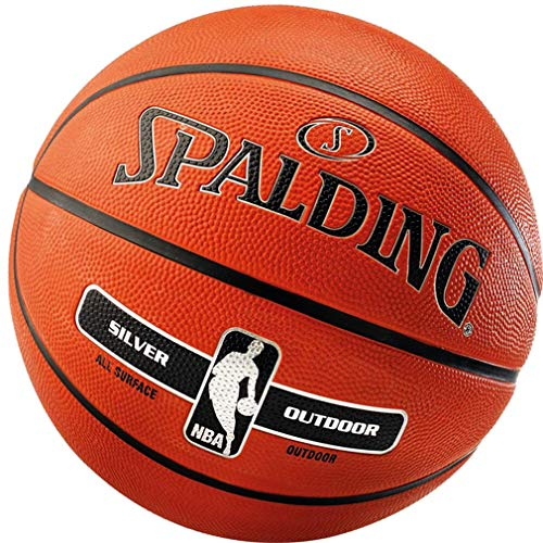 Spalding Basketball Silver Outdoor Street Ball (5 mit Ballpumpe)