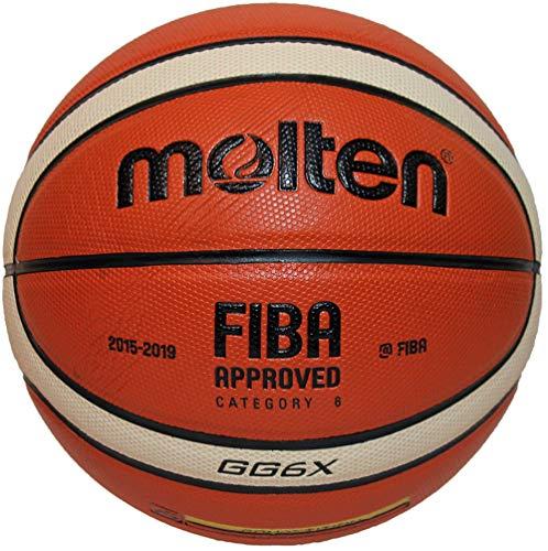 Molten BGGX Parallel Pebble Basketball, Tan, Größe 6