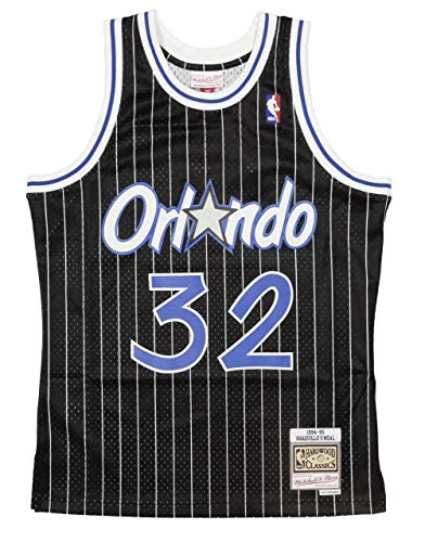 Mitchell & Ness Shaq O'Neal #32 Orlando Magic 1994-95 Swingman NBA Trikot Schwarz, L