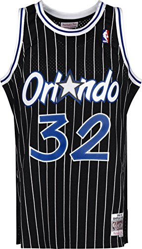 Mitchell & Ness Shaq O'Neal #32 Orlando Magic 1994-95 Swingman NBA Trikot Schwarz, XXL