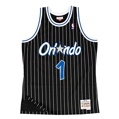 Mitchell & Ness Replica Swingman NBA Jersey HWC 1 Anfernee Hardaway Orlando Magic Basketball Trikot