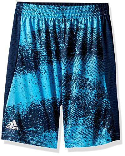 adidas Jungen Athletic Basketball Shorts, Fusion Sh Aqua, 2 Jahre