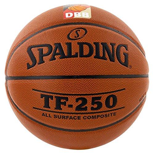 Spalding Ball TF250 DBB In/out 74-594z, Orange, 7