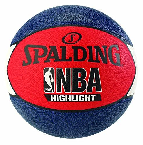 Spalding Unisex-Adult 3001550029417_7 Basketball, Navy Blue,red,White, 7