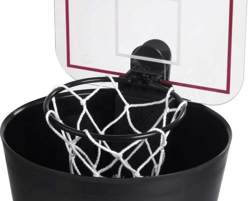 Basketballkorb für den Büromülleimer